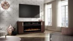 179 Fireplace Console by Defehr at Stoney Creek Furniture
