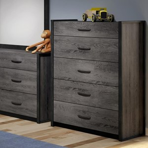 Defehr 538 5-Drawer Chest