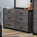 Defehr 538 Dresser - Item Number: 538246