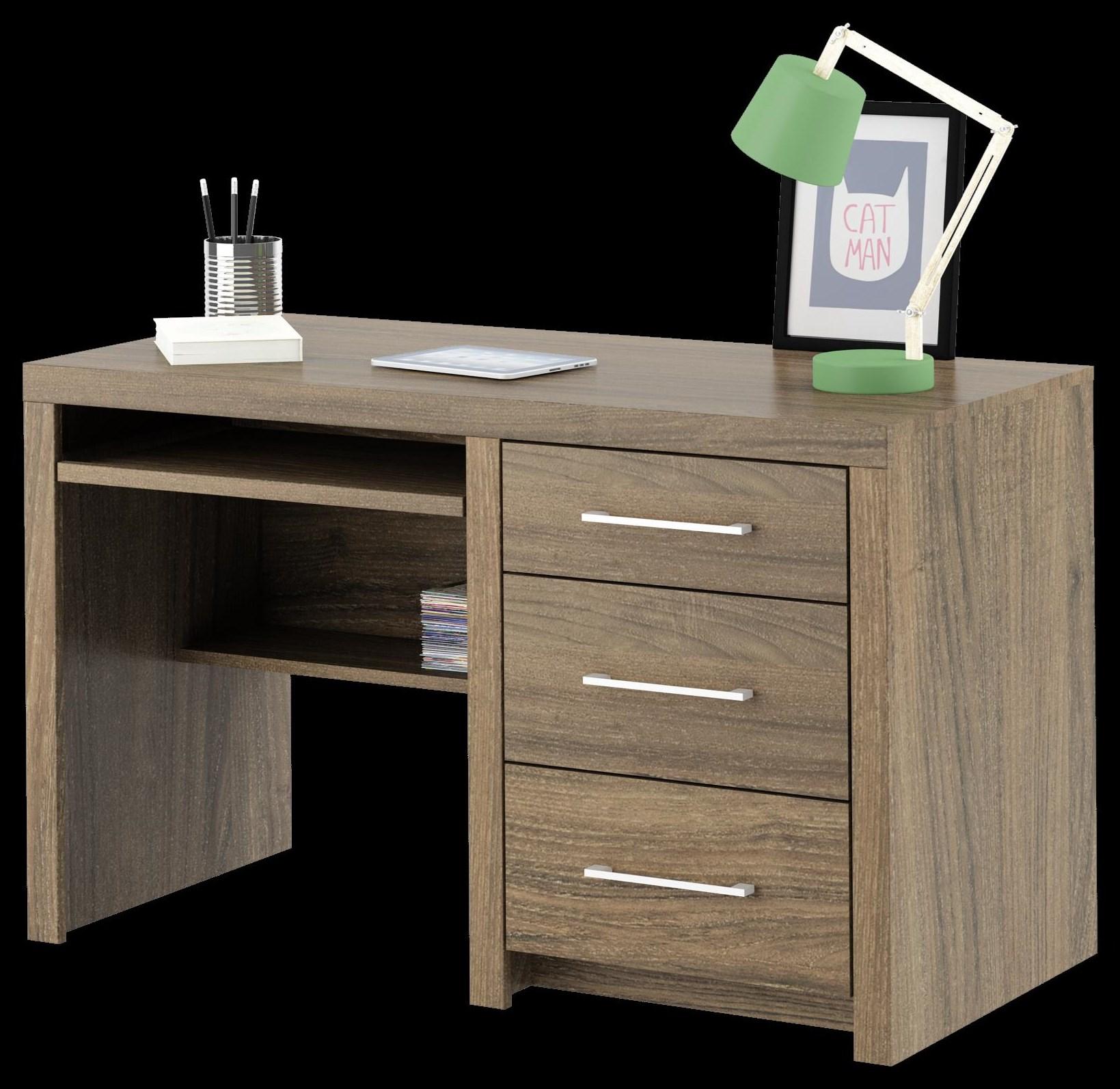 Computer Desk, 3 drawer