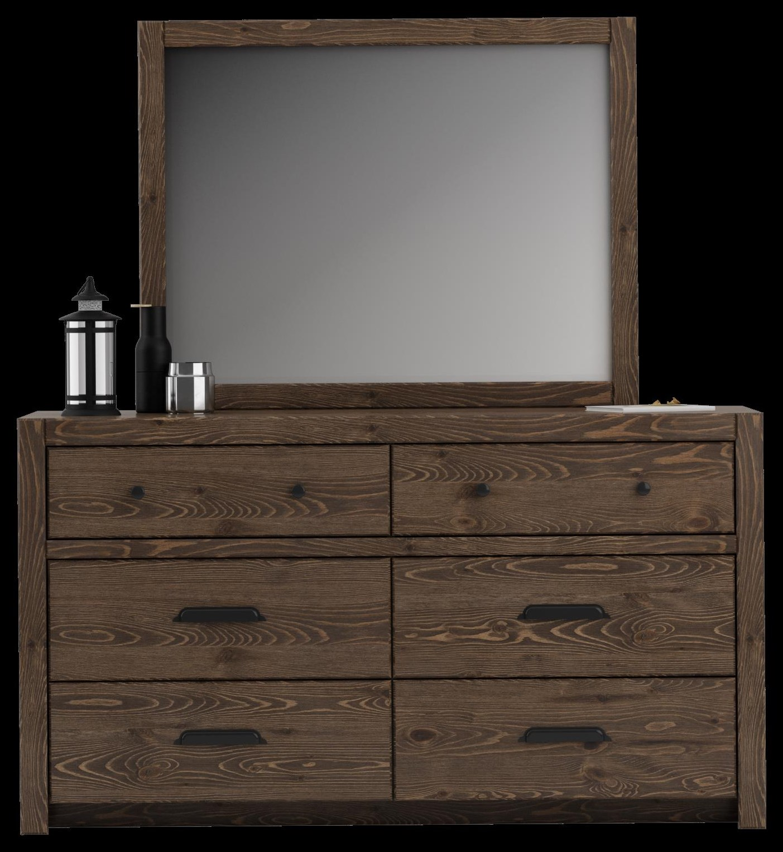 650 Landscape Bevelled Mirror by Defehr at Stoney Creek Furniture