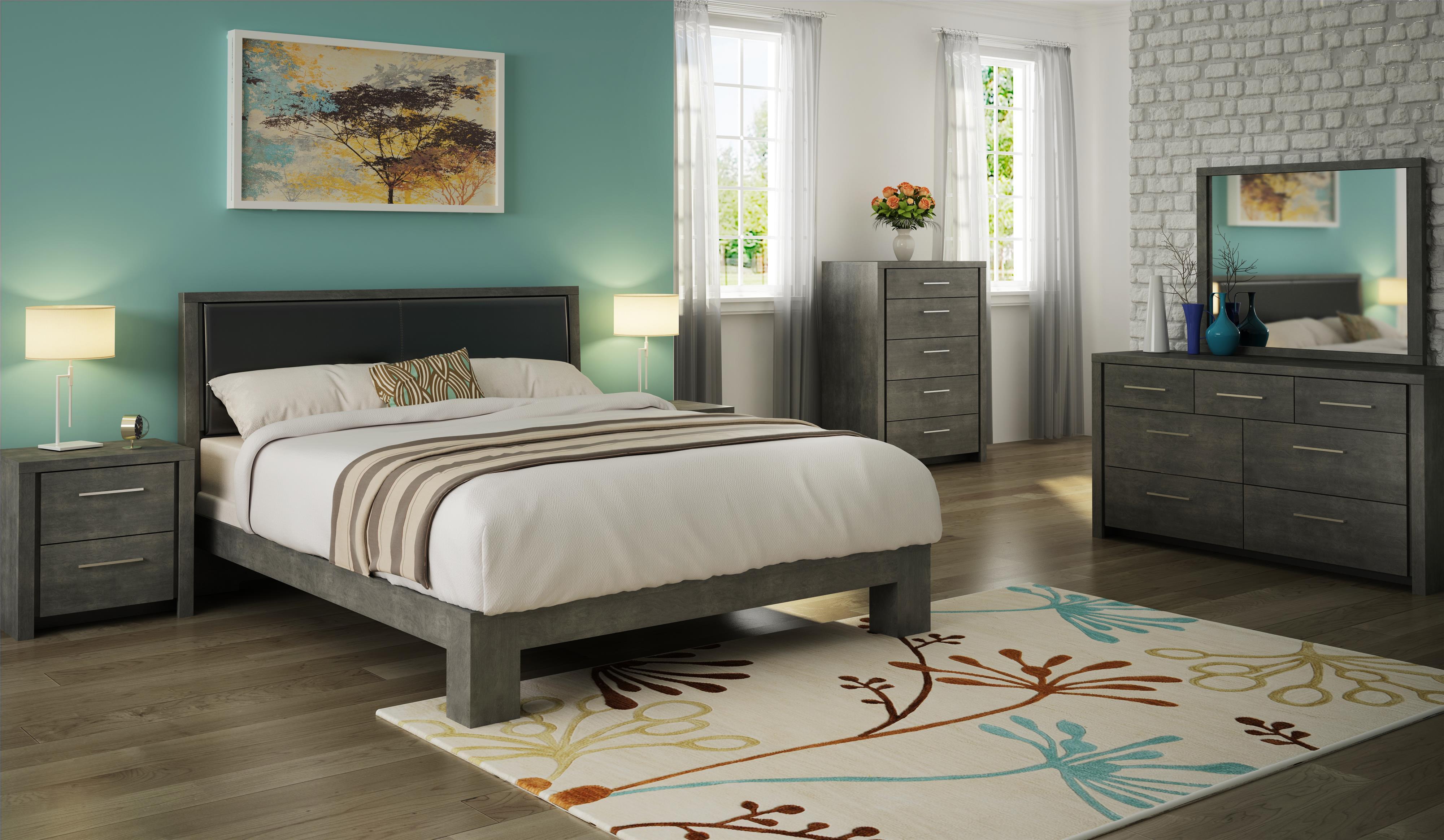 Defehr Cordoba King Platform Bed With Upholstered