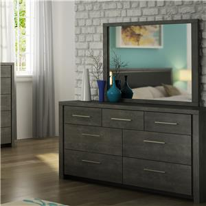 Defehr Cordoba Dresser and Mirror Set