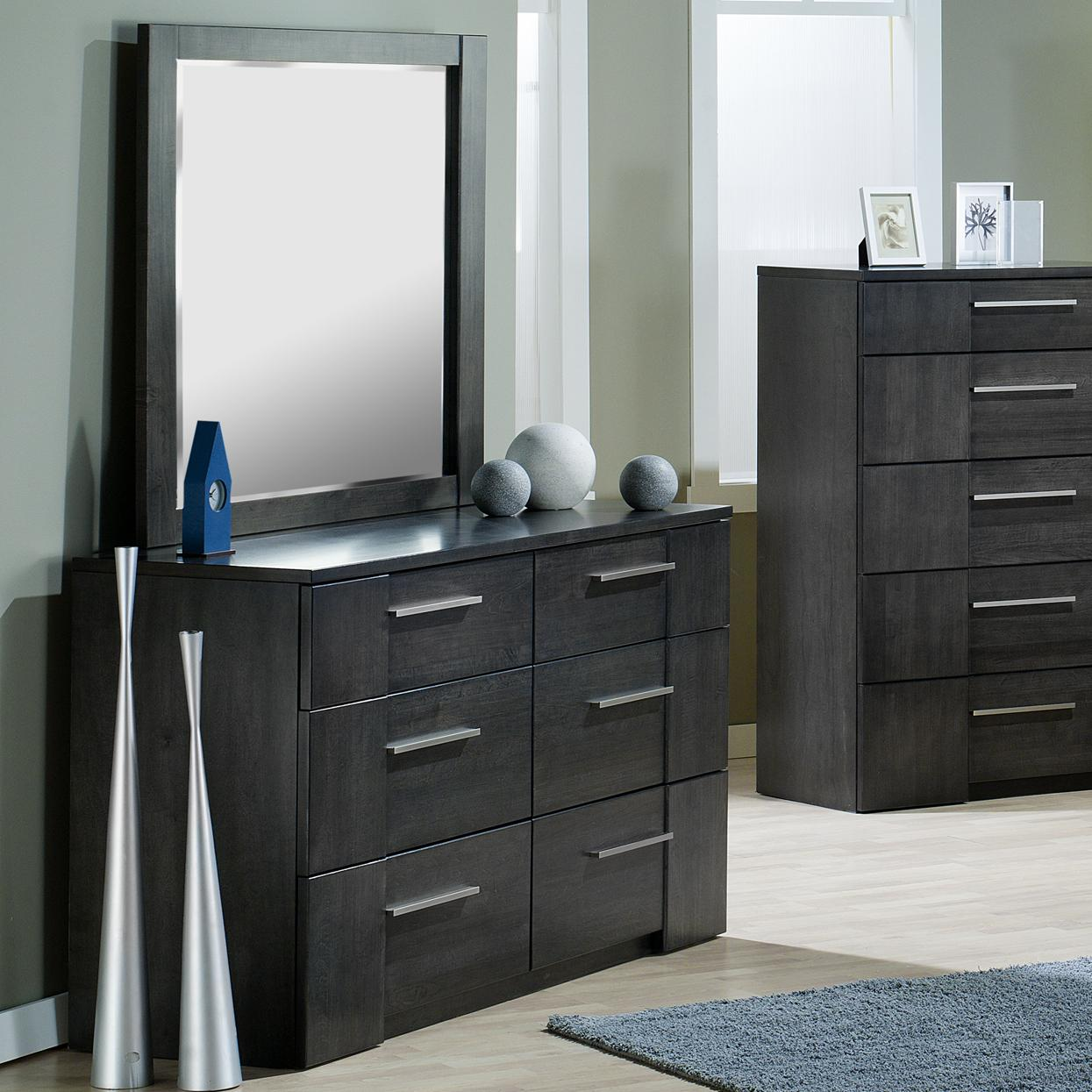 Milano Dresser and Mirror by Defehr at Stoney Creek Furniture