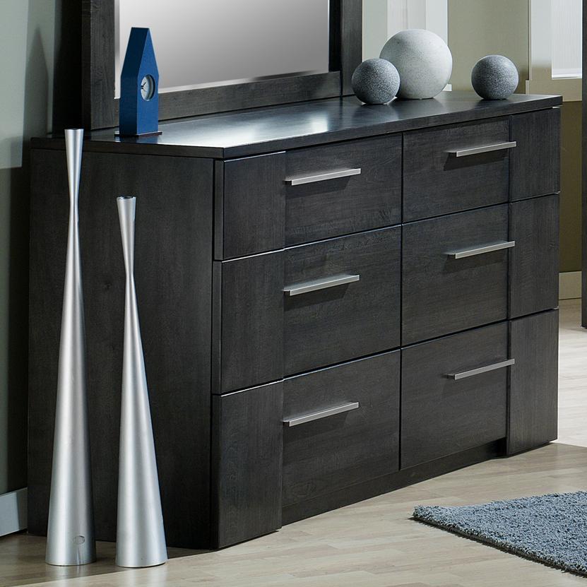 Milano 6 Drawer Dresser by Defehr at Stoney Creek Furniture