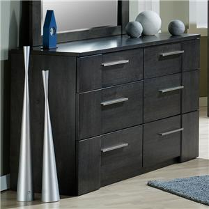 Defehr Milano 6 Drawer Dresser