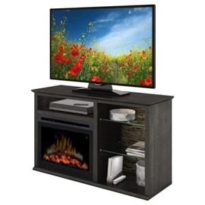 Defehr Series 186 Entertainment Console with Fireplace