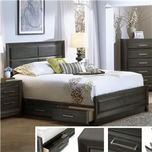 Defehr Verona  Queen Storage Bed