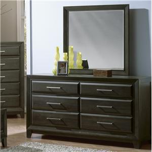 Defehr Verona  Dresser & Mirror