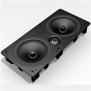 "Definitive Technology Disappearing In-Wall Series Dual 6-1/2"" Disappearing In-Wall Speaker"