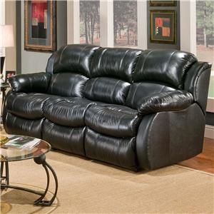 Caine Casual Reclining Sofa with Drop Down Table and Massage by Delancey Street