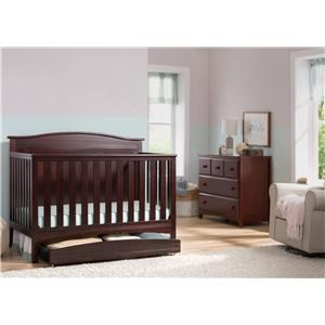Kenton Crib in Chocolate