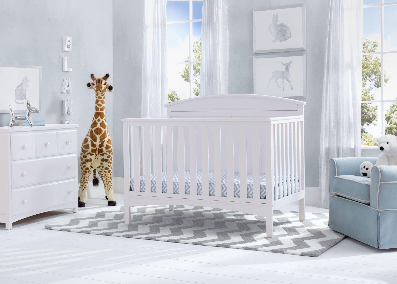Delta Children's Products Delta Cribs Laurel Crib in White - Item Number: 540330-130
