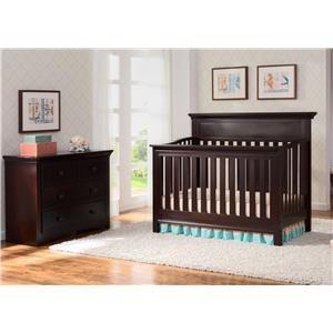 Delta Children's Products Delta Cribs Dover Crib in Chocolate