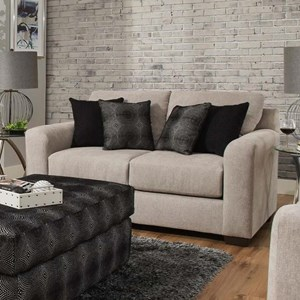 Delta Furniture Manufacturing 4100 Loveseat