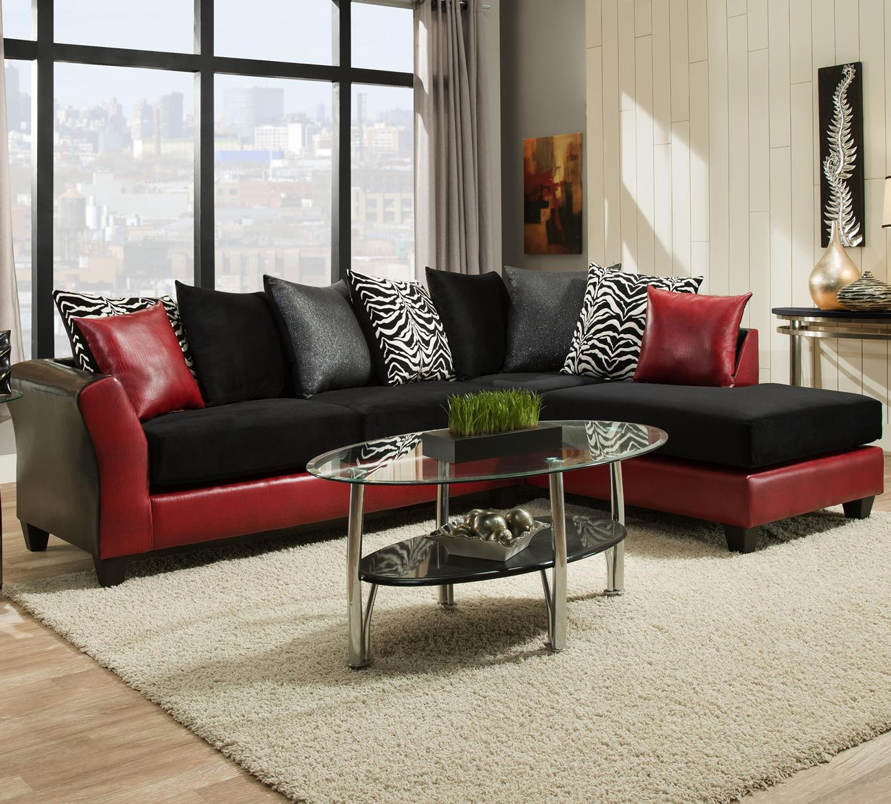 Delta Furniture Manufacturing 4174 Transitional Sectional