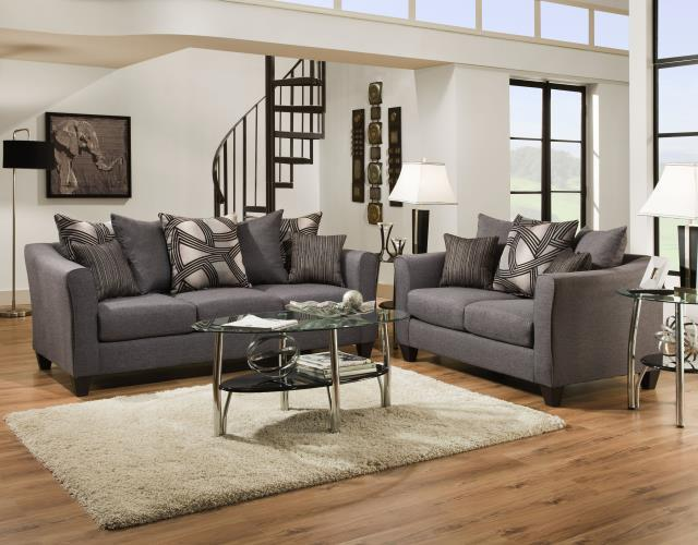 Del Sol Exclusive Astro Midnight Sofa & Love seat - Item Number: 6300-SET