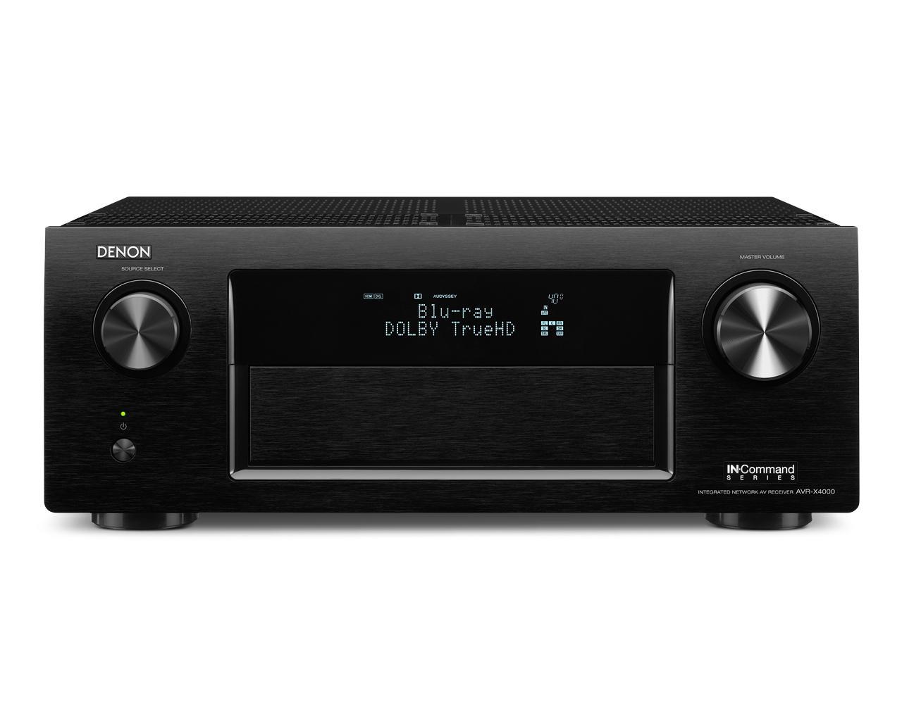 Denon AV Receivers 7.2 Channel AV Receiver - Item Number: AVR-X4000