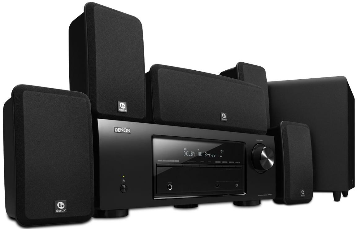 Denon Home Theater Systems 5.1 Channel Home Theater System - Item Number: DHT-1513BA