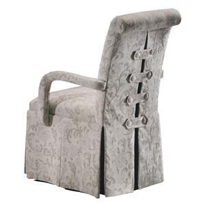 Designmaster Chairs  Bridgewater Skirted Arm Chair