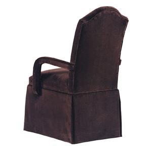 Designmaster Chairs  Holyoke Skirted Arm Chair