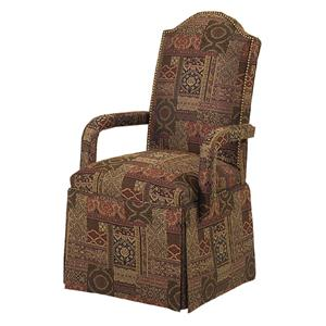 Chandler Skirted Arm Chair