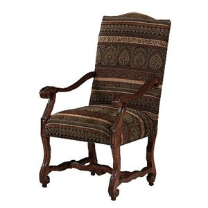 Strasbourg Carved Arm Chair