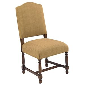 Designmaster Chairs  Hollister 'H' Stretcher Side Chair