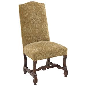 Designmaster Chairs  Luxemberg Overscaled Carved Side Chair