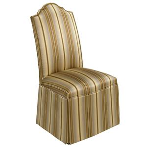 Designmaster Chairs  Georgetown Overscaled Nail Head Trim Skirt