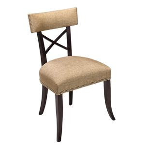 Designmaster Chairs  Dahlia X Back Side Chair