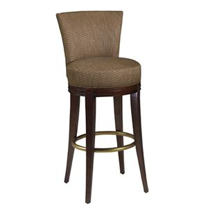 Designmaster Dining Stools 03 582 24 Calais Carved Swivel