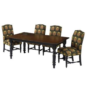 Designmaster Tables Quakertown Black Base Table