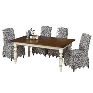 Designmaster Tables Quakertown White Base Table