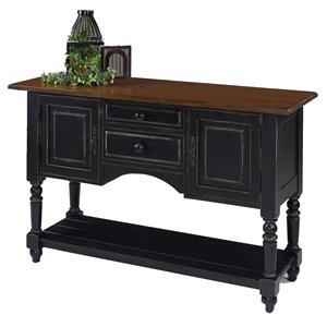 Designmaster Tables Barnstead Sideboard w/Black Finish