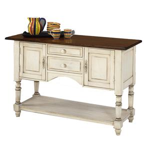 Designmaster Tables Barnstead Sideboard w/White Finish