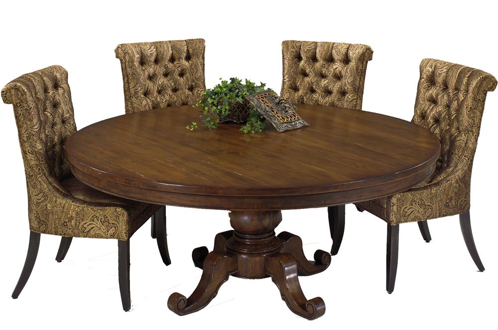 Designmaster Tables Victoria Round Reclaimed Wood Table With 72 Inch  Diameter   AHFA   Dining Room Table Dealer Locator