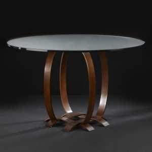 "C.S. Wo & Sons Ribbon 36"" Dining Table"