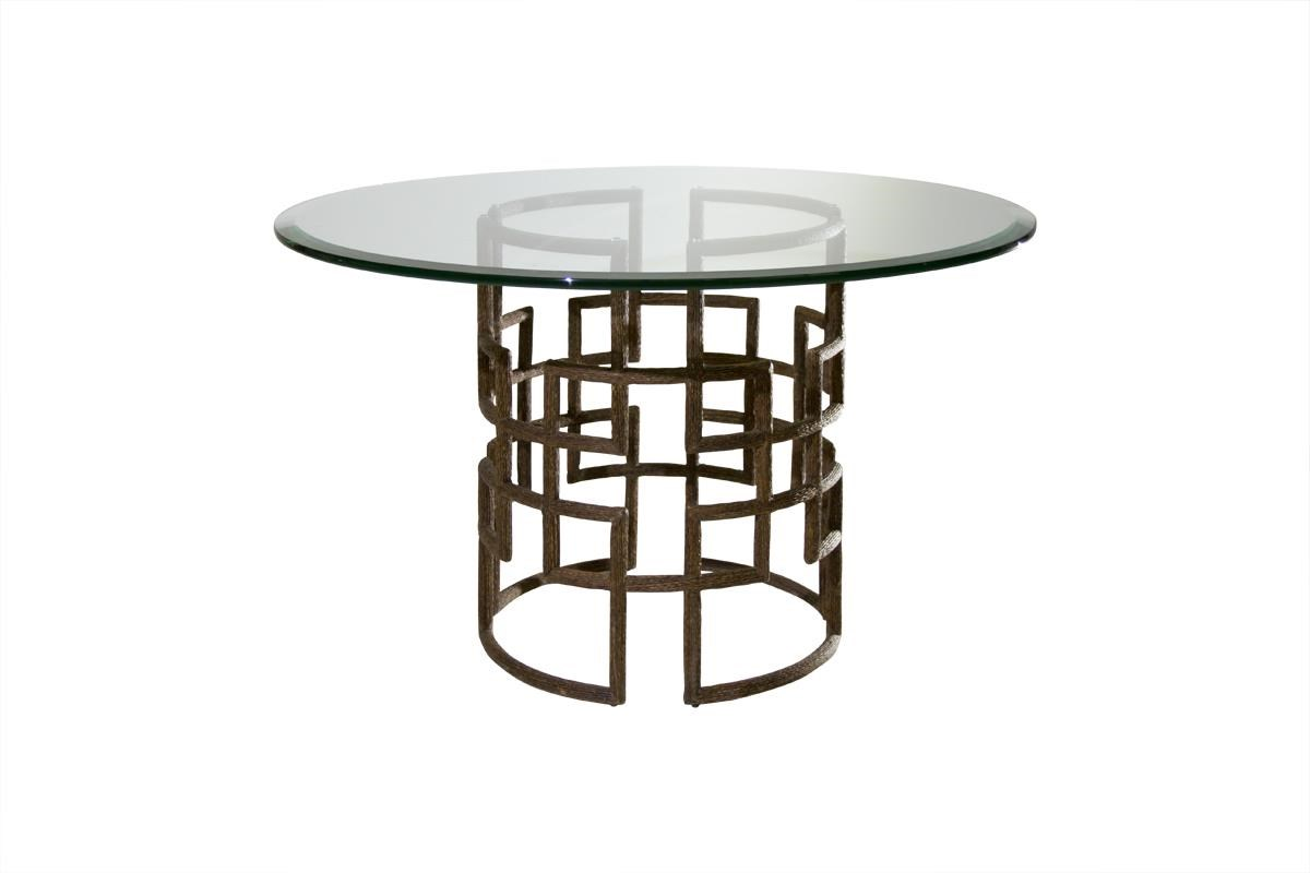 """C.S. Wo & Sons Silas 42"""" Dining Table - Item Number: Silas"""