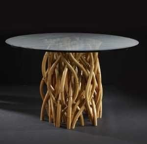 """C.S. Wo & Sons Gaia 54"""" Dining Table - Item Number: Gaia"""