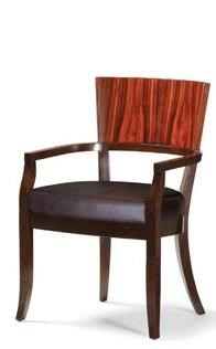 C.S. Wo & Sons Nubia Dining Arm Chair - Item Number: Nubia Arm Chair
