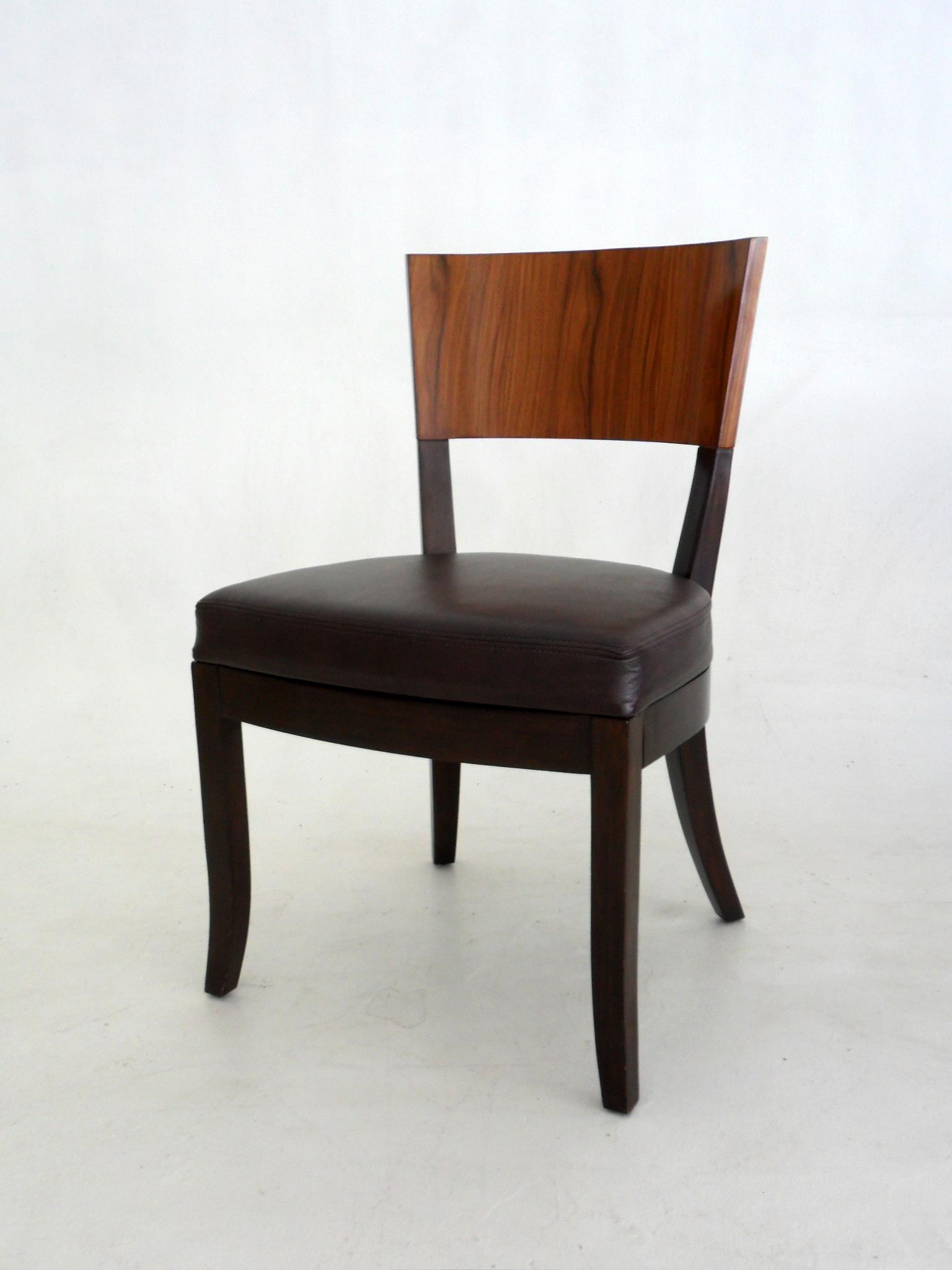 Nubia Dining Side Chair by C.S. Wo & Sons at C. S. Wo & Sons Hawaii