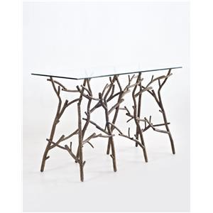 "C.S. Wo & Sons Twiggy 72"" Console Table"