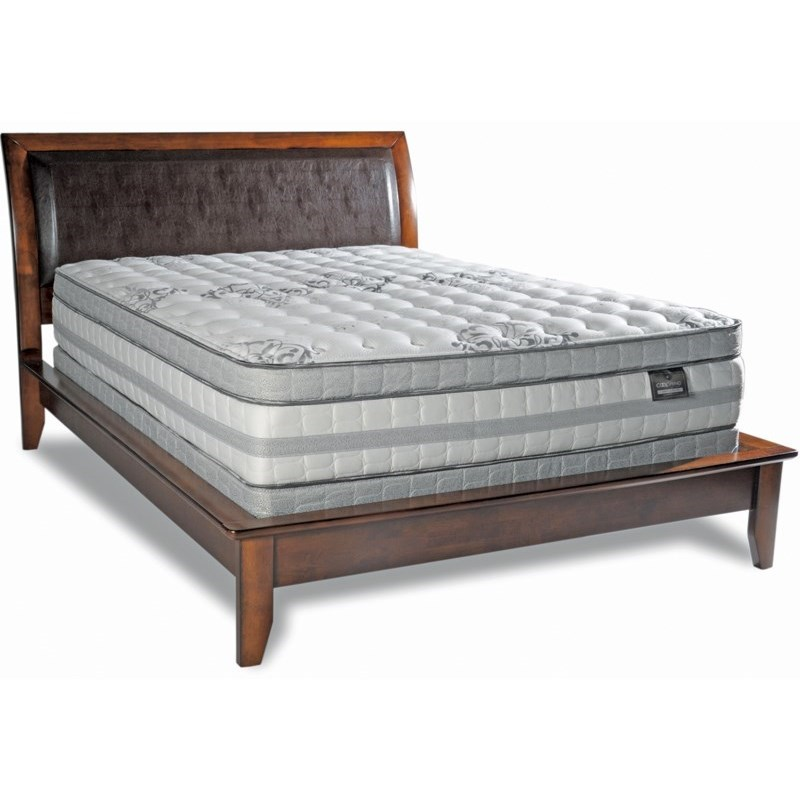"Diamond Mattress Cool Touch Unity Euro Top Twin 14"" Meduim Firm ET Mattress - Item Number: Eurotop-T"
