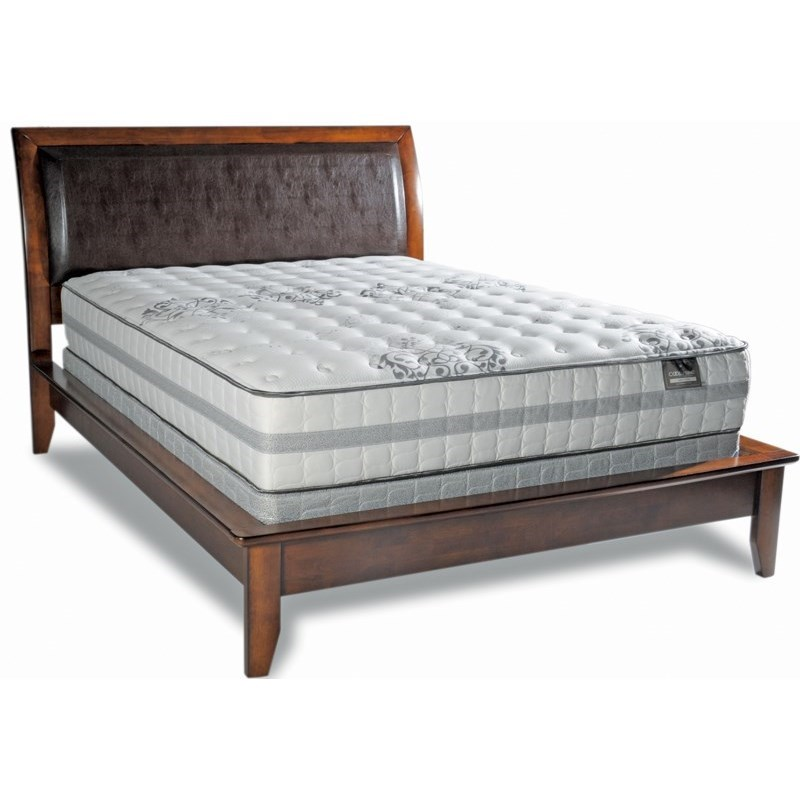 "Diamond Mattress Cool Touch Unity Firm Cal King Firm 11"" Mattress Set - Item Number: Firm-CK+2xhdwdfndtn-SPCK"