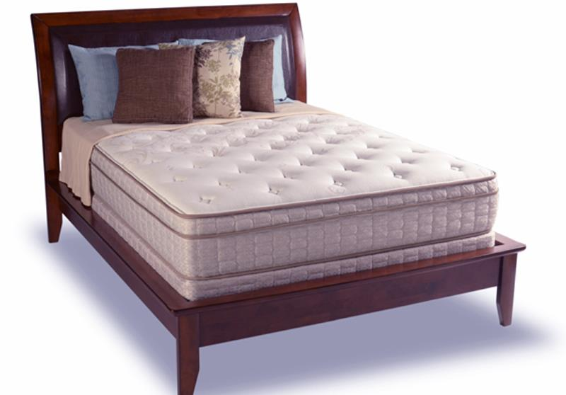 Diamond Mattress Dream Collection Reflection Queen Euro Top Mattress Set - Item Number: Eurotop-Q+F136-5050