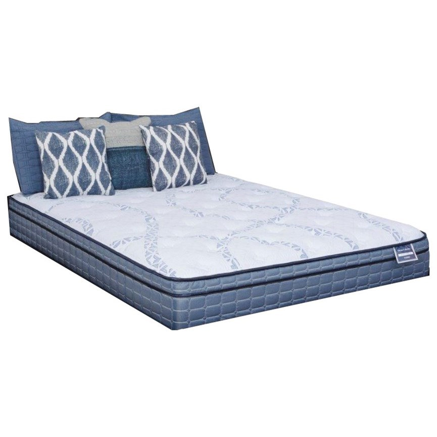 Diamond Mattress Dream Victory Euro Top Queen Euro Top Mattress - Item Number: DRVIET-1050