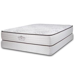 Diamond Mattress Generations Relief Queen Luxury Firm Mattress and Oval Pearl 8