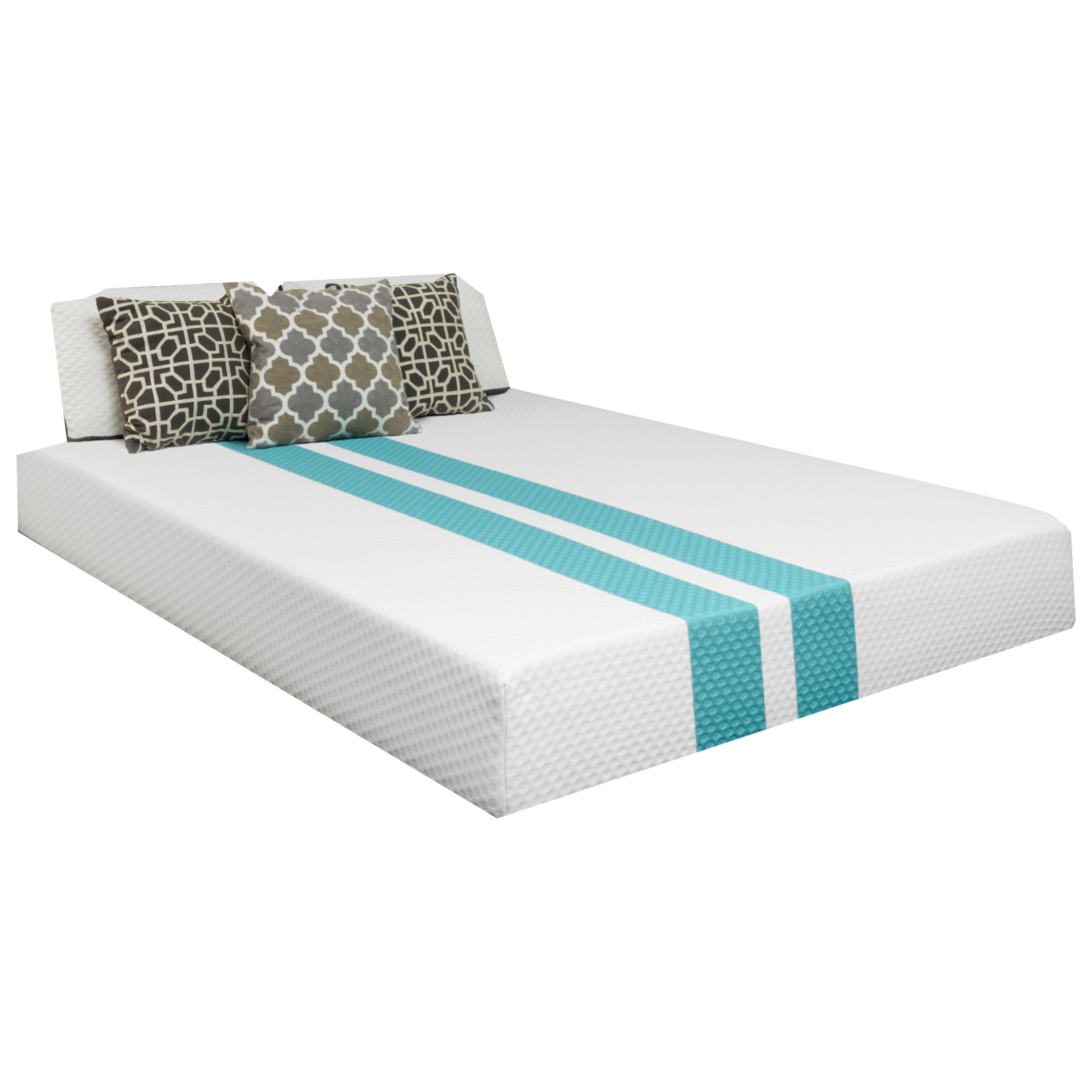 Twin XL Hybrid Cooling Plush Mattress