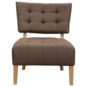 Diamond Sofa Accent Chairs Low Profile Accent Chair